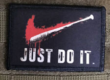 Walking Dead Just Do It Morale Patch Tactical Military Army Badge USA Negan Bat