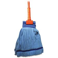 "Genuine Joe Complete Wet Mop Microfiber w/ 60"" Gripper Handle 47537"