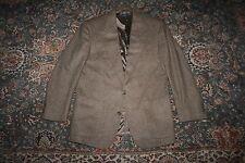 VINTAGE Brooks Brothers Brown Herringbone Wool Tweed Sport Coat 41 R