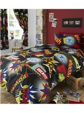 COMIC BOOK SINGLE TWIN  bed QUILT DOONA COVER SET NEW