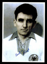 Karl Ringel Autogrammkarte DFB Nationalspieler 50er Jahre  Original Signiert