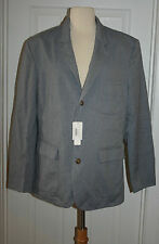 J.CREW UNCONSTRUCTED LUDLOW FIELDING SPORTCOAT IN ITALIAN OXFORD CLOTH SIZE L