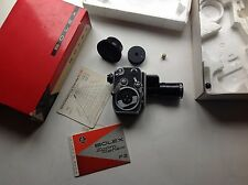 Vintage Paillard Bolex P2 Zoom Reflex Movie Camera w/ Som Berthoit Lens & Box