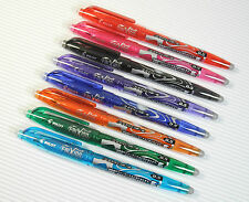 8 colours Pilot FriXion ball 0.5mm erasable roller ball pen