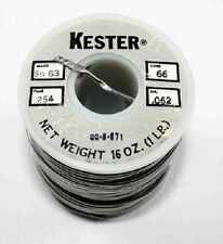 "Kester 0.062"" Solid Core Solder 1 lbs Spool"