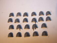 22 Space Marine Tactical Squad Shoulder Pads (bits auction)