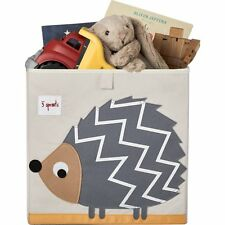 3 Sprouts Storage Box- Grey Hedgehog | Cubby Hole Storage Unit Box | UK Seller