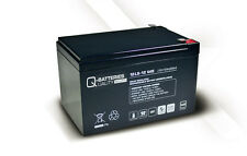 Akku Batterie Q-Batteries 12Ah 12V AGM 12LS-12 für USV/Security/IT/Alarm