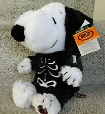 Snoopy Halloween Animated Plush Peanuts Super Soft with Skeleton Costume 10""