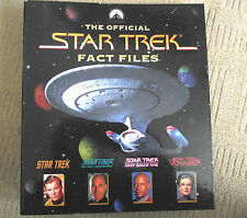 STAR TREK OFFICIAL FACT FILES / BINDER / SECTION 6 / WITH 14  FACT FILES MAGS