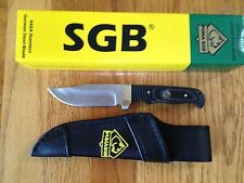 PUMA SGB BUFFALO SKINNER II FIXED BLADE KNIFE MICARTA HANLE GERMAN STEEL NEW BOX