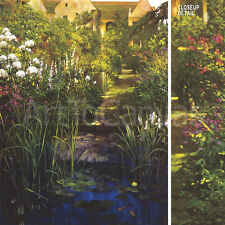 "24""X32"" STEPS TO THE LILY POND by PHILIP CRAIG GARDEN PATH HOUSE STAIRS{ CANVAS"