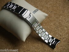 SEIKO 22mm SOLID STAINLESS STEEL WATCH STRAP 3285-G.C FOR Scuba Diver's SNM011K1