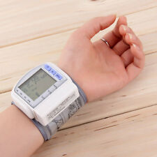 New Digital Automatic Wrist Blood Pressure Pulse Monitor Heart Beat Meter EF~