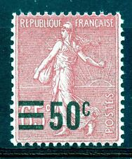 STAMP / TIMBRE DE FRANCE NEUF N° 224 ** SEMEUSE SURCHARGE