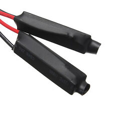 2 Pack Motorcycle Turn Signal LED Load Resistor Flash Blinker Fix Error Sales