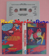 MC ROLLING STONES Dirty work 1986 holland 40-86321 cd lp dvd vhs