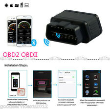 Car OBDII ELM327 Diagnostic Scanner (Bluetooth,WiFi)Tool With Auto Sleep Switch
