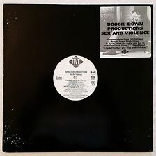 1992 - BOOGIE DOWN PRODUCTIONS - SEX AND VIOLENCE LP - ORIGINAL JIVE PROMO ONLY