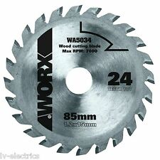 WORX WA5034 WORXSAW 85 mm TCT Blade Disc Wood Cutting