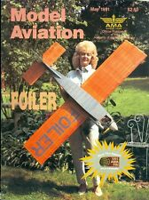 1991 Model Aviation Magazine: Vilbina Tanzer with RC Scale Foiler