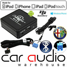 Alfa Romeo 147 Bluetooth Music Streaming Handsfree Car Kit AUX In Kit CTAARBT001