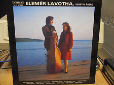 ELEMER LAVOTHA, KERSTIN ABERG BIS LP-72 USED LP SHORT PIECES FOR CELLO AND PIANO