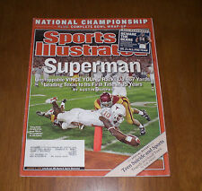 2006 TEXAS LONGHORNS NATIONAL TITLE SPORTS ILLUSTRATED - VINCE YOUNG