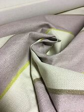 BEAUTIFUL LAURA ASHLEY LILAC CHENILLE UPHOLSTERY FABRIC 5.1 METRES