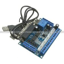 Stepper Motor Driver MACH3 Interface Board CNC 5 Axis With Optocoupler Adapter