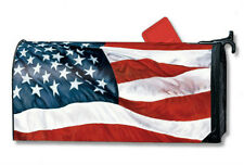 STARS AND STRIPES  mailbox cover - attaches with magnets - MADE IN USA