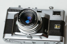Voigtlander Vitessa T w/50mm f/2.8 Color-Skopar Vintage RF camera