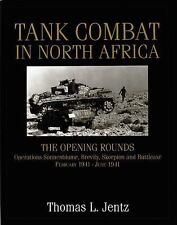 TANK COMBAT IN NORTH AFRICA - NEW HARDCOVER BOOK