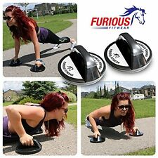 Rotating Push Up Stands Set with Guide Perfect Wide Grip Handle Bars for Workout