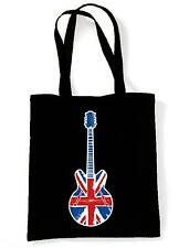 UNION JACK GUITAR  SHOULDER BAG - Britpop Noel Gallagher Epiphone Mod Target