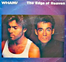 ++WHAM the edge of heaven/battlestations SP 1986 CBS RARE VG++