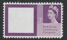 Great Britain (161) 1963 Red Cross 3d Missing Red - a Maryland FORGERY unused