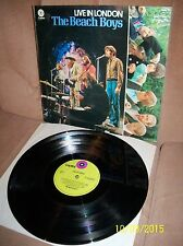 THE BEACH BOYS Live in London 1970 Capitol LP 5C 054-80627 EXC- Dutch Import