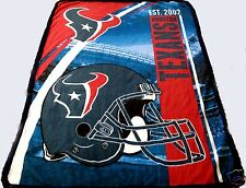Houston Texans blanket bedding 60x80 Twin Full FREE SHIPPING   NFL Texans throw
