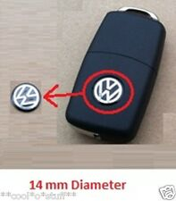 250- VOLKSWAGEN VW LOGO REMOTE KEY GTI MONOGRAM EMBLEM BADGE POLO VENTO JETTA