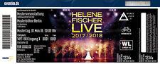 Helene Fischer    Mannheim Samstag 21.10.2017    2 Sitzplätze nebeneinander