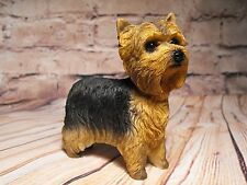 YORKSHIRE TERRIER DOG ORNAMENT FIGURE FIGURINE  ORNAMENT GIFT YORKIE FIGURE NEW