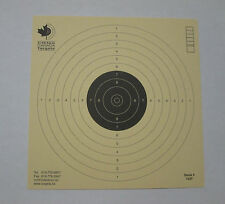 Competition grade Air Pistol 10 meters Targets ISSF German Paper