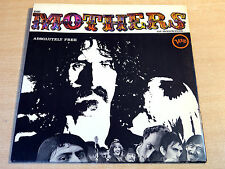 EX/EX !! Mothers Of Invention/Absolutely Free/1967 Verve Gatefold LP/Frank Zappa
