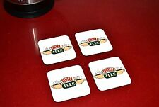 Friends Central Perk The Coffee Shop Wooden Coaster Set