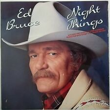 Night Things by ED BRUCE w/Lynn Anderson LP (Casablanca) 1986 New/Sealed Mint D