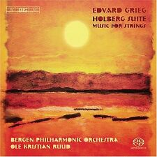 NEW Grieg: Holberg Suite Music for Strings Super Audio CD Hybrid SACD DSD Ruud