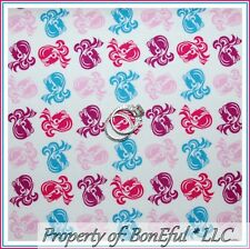 BonEful Fabric FQ Cotton Quilt Cosmetology Girl Hair Barbie Fashion Beauty Shop