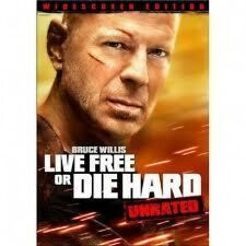 Live Free or Die Hard DVD Bruce Willis UNRATED - MINT