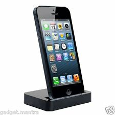 Portable Desktop Data Sync USB Cradle Dock Charging Station For iPhone 5 5S 5c